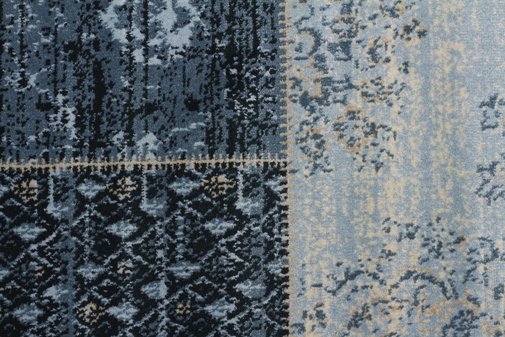 Culture Heirloom Patchwork - Blue
