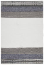 Esha Textured Woven - White Denim
