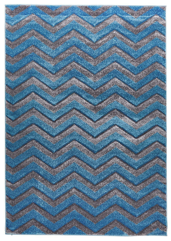 Icon Modern Chevron Design - Blue Grey