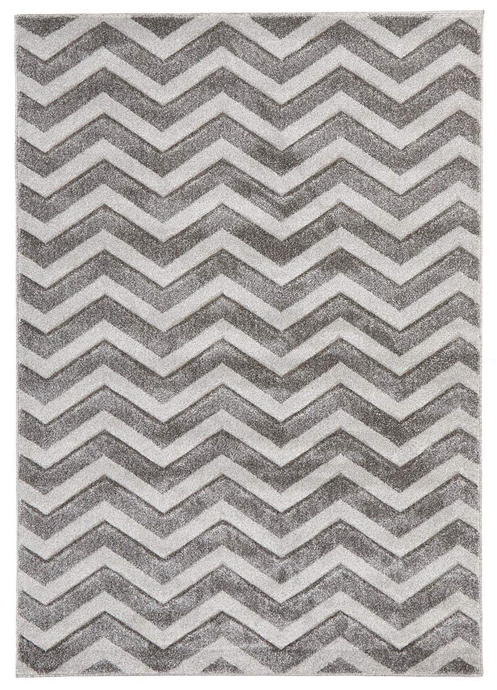 Icon Modern Chevron Design - Silver