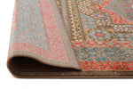 Jewel Antique Heriz Design - Red Blue [Runner]