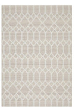 Krisha Tribal Trellis - Natural Beige
