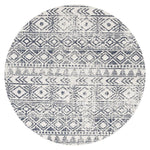 Oasis Ismail Rustic - White Blue [Round]