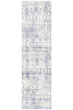 Oasis Ismail Rustic - White Blue [Runner]