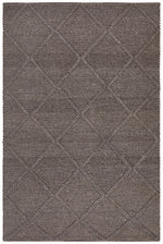 Oberg Wool Diamond - Grey Brown