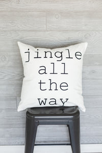 Jingle Pillow Cover