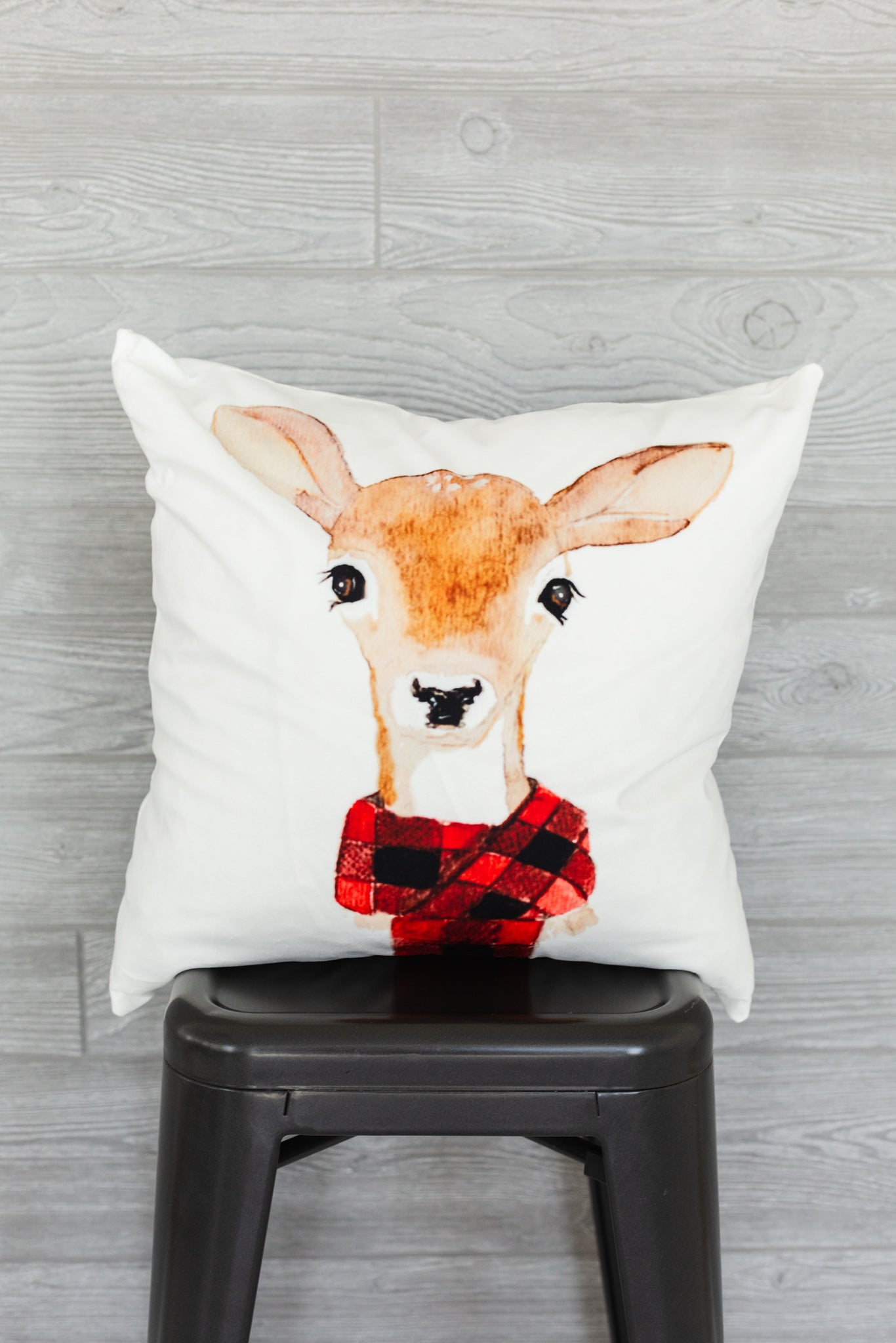 Baby Deer Pillow Cover