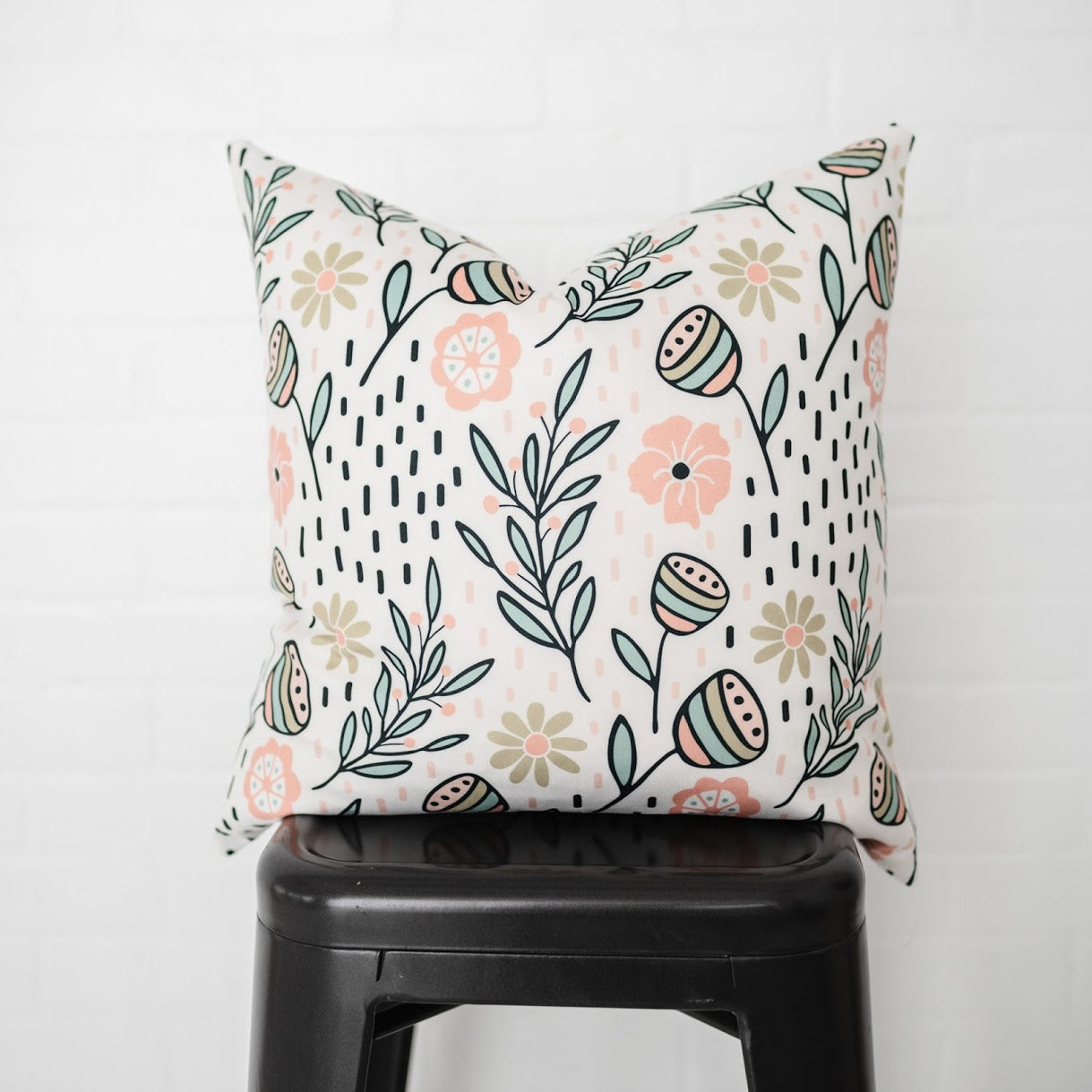 Spring Flowers Pillow Cover