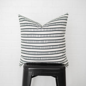 Ladder Stripe Pillow Cover