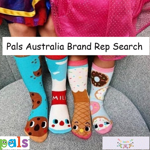 Pals Australia Brand Rep Search by My Sock Company
