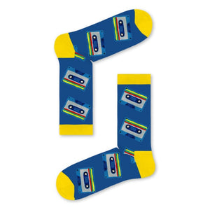 CASSETTE TAPES Adult socks - Socks