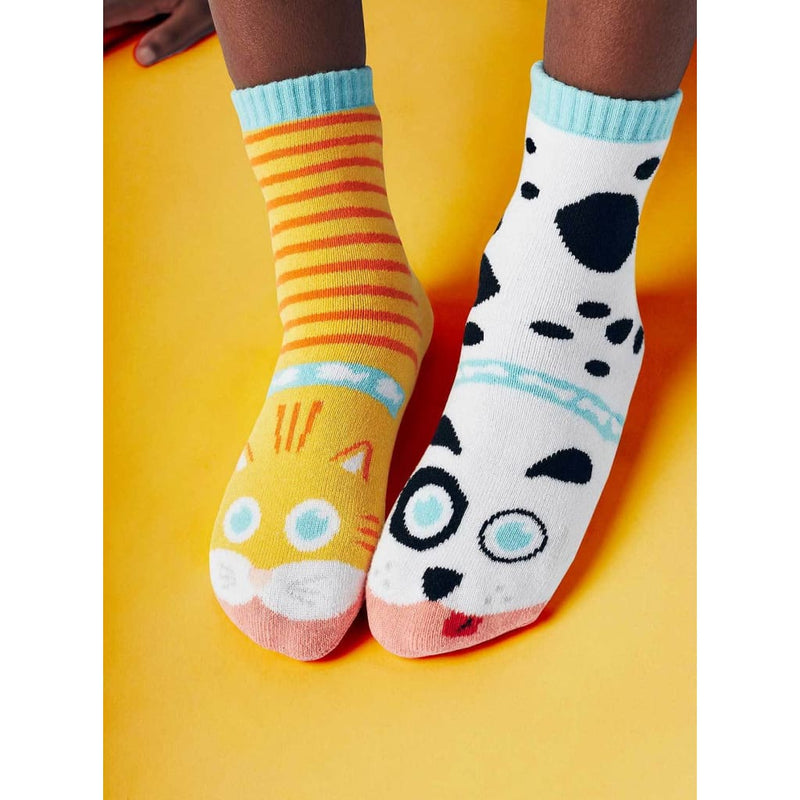 CAT & DOG | KIDS COLLECTIBLE MISMATCHED SOCKS - Socks