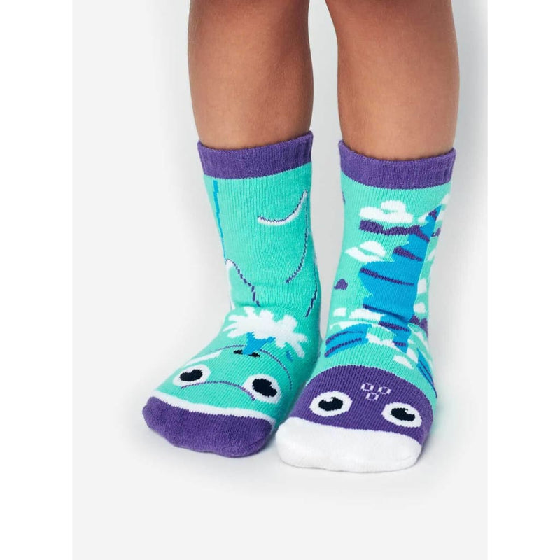Dolphin & Fish | Kids Collectible Mismatched Socks - Kids 4-8 Years