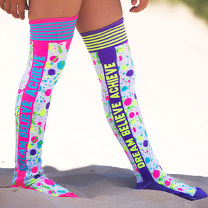 Dream, Believe, Achieve Socks