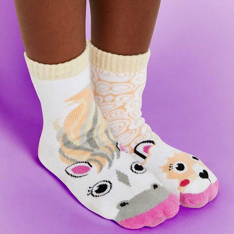 HORSE & ALPACA | KIDS COLLECTIBLE MISMATCHED SOCKS - Socks