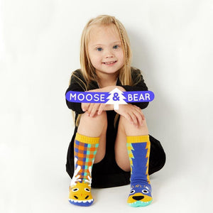 MOOSE & BEAR | KIDS COLLECTIBLE MISMATCHED SOCKS Age 1-3 - Socks