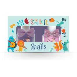 Snails Safe Nail Polish for Kids - Music is My Life Gift Set
