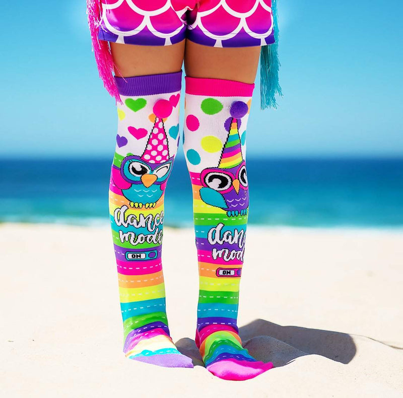 Owl Socks by Madmia