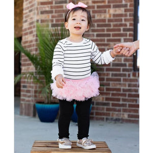 Pink Frilly Skirted Knit RuffleButt - Bottoms