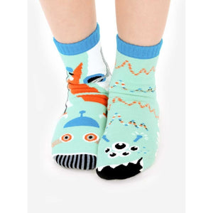 Robot & Alien | Kids Collectible Mismatched Socks 1-3