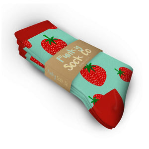STRAWBERRIES Adults only - Socks