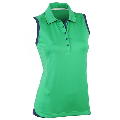 NOLA SLEEVELESS POLO