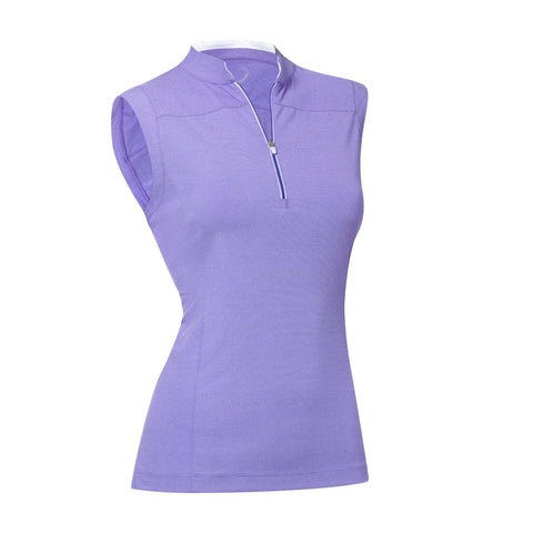 Rory Sleeveless Zip Mock -SALE - Zero Restriction