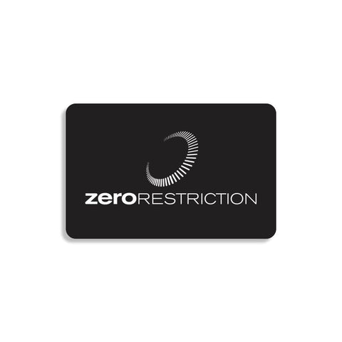 Gift Card - Zero Restriction