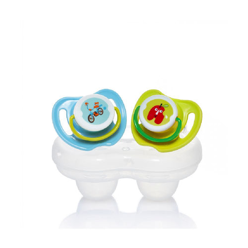 Calming Soother 2pcs Pack Boys (S)