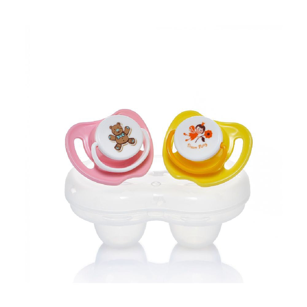 Calming Soother 2pcs Pack Girls (M)