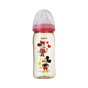 SofTouch™ Wide Neck PPSU Nursing Bottle Disney Mickey Minnie, 240ml