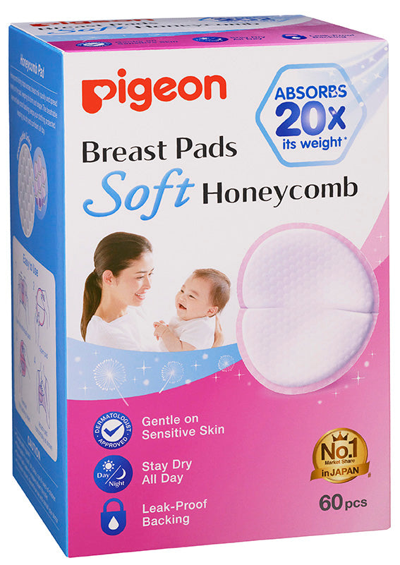 Breast Pads Honeycomb 60s - Set of 4