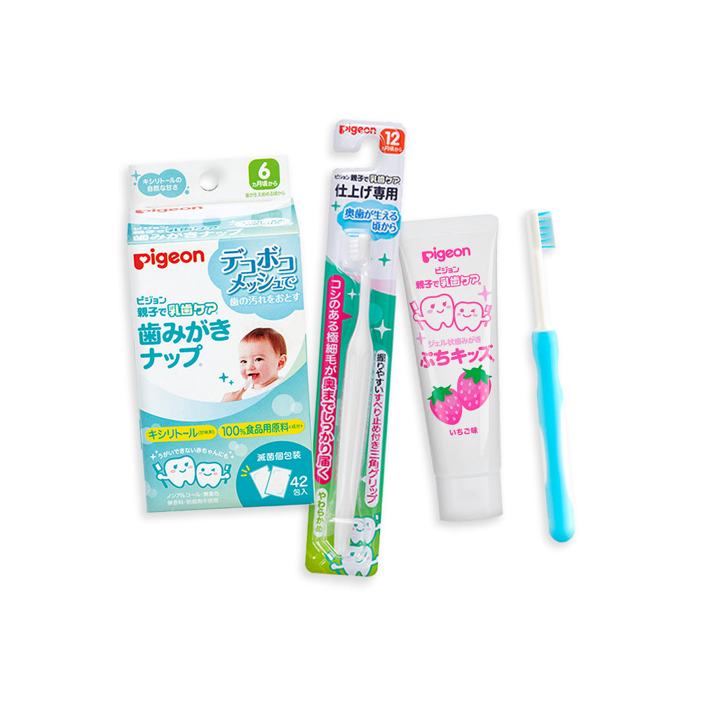 Advanced Oral Care Kit (Blue, Strawberry)
