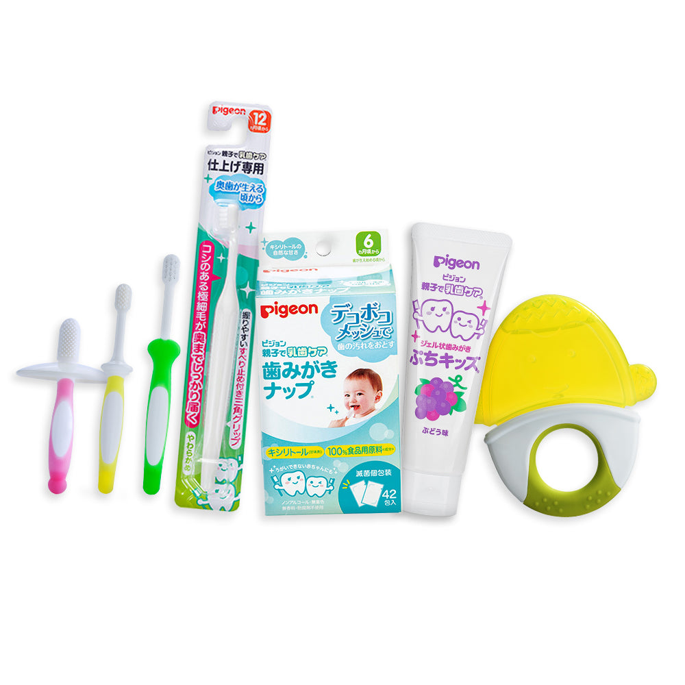 All In One Oral Care (Ocean - Grape/Green Penguin)