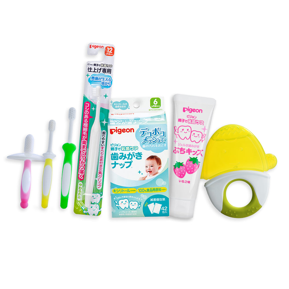 All In One Oral Care (Ocean - Strawberry/Green Penguin)