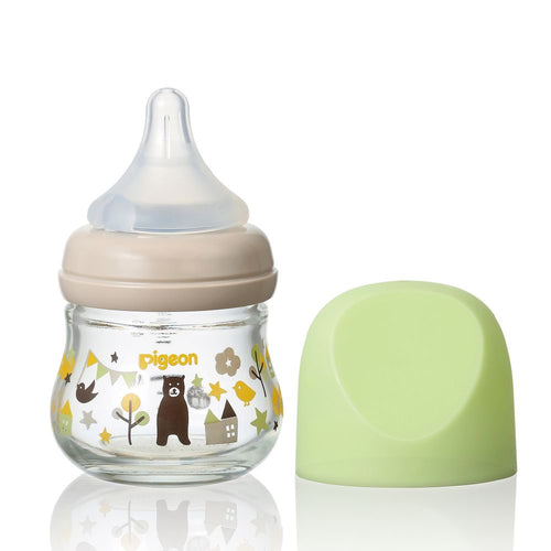 SofTouch™ My Precious Glass Nursing Bottle Bear 80ml