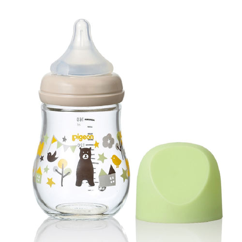 SofTouch™ My Precious Glass Nursing Bottle Bear 160ml