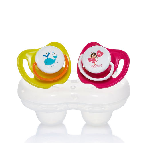 Calming Soother 2pcs Pack Girls (L)