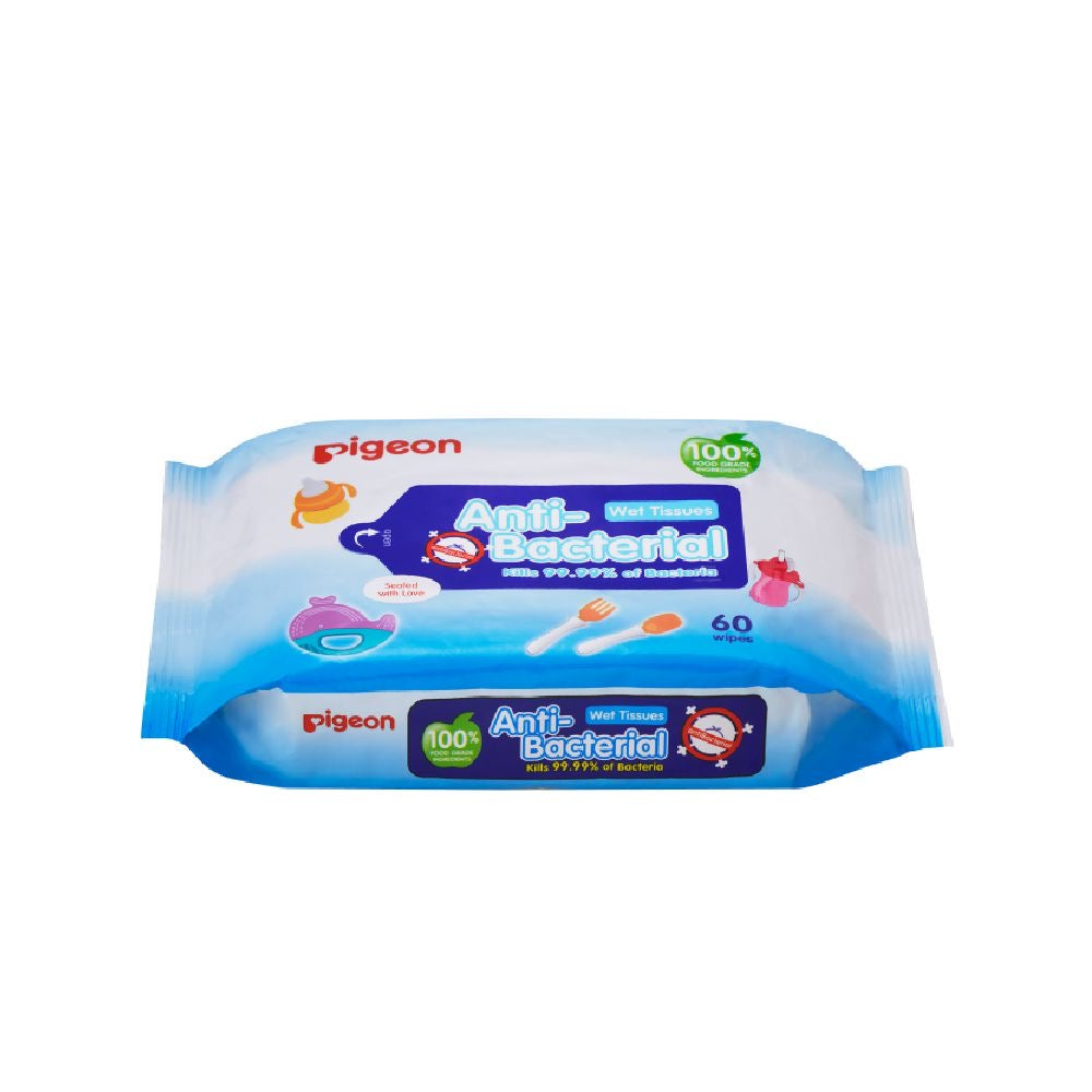 Anti-Bacterial Wet Tissue 60 Sheets Refill