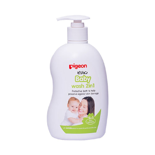 Sakura 2 in 1 Baby Wash 1 Litre