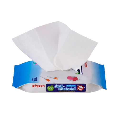 Anti-Bacterial Wet Tissue 20 Sheets Refill