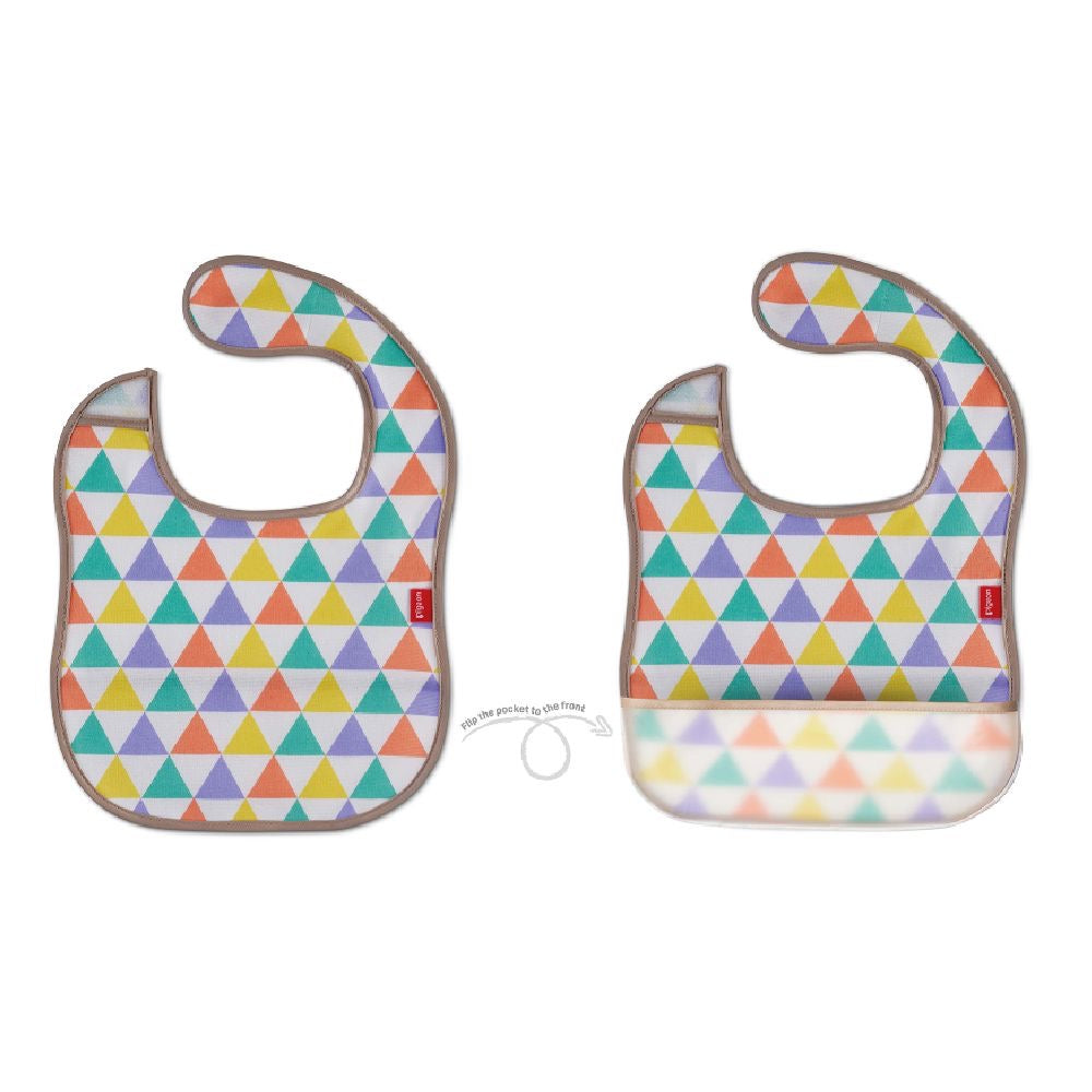 Pigeon 2 Way Baby Bib Flag
