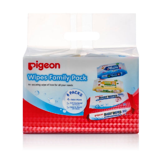 Wet Wipes Family Pack