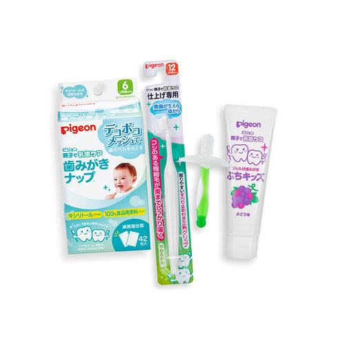 Kickstarter Oral Care Kit (Green, Grape)