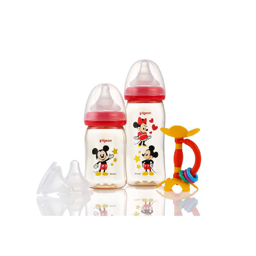SofTouch™  Wide Neck PPSU Nursing Bottle Disney Gift Set