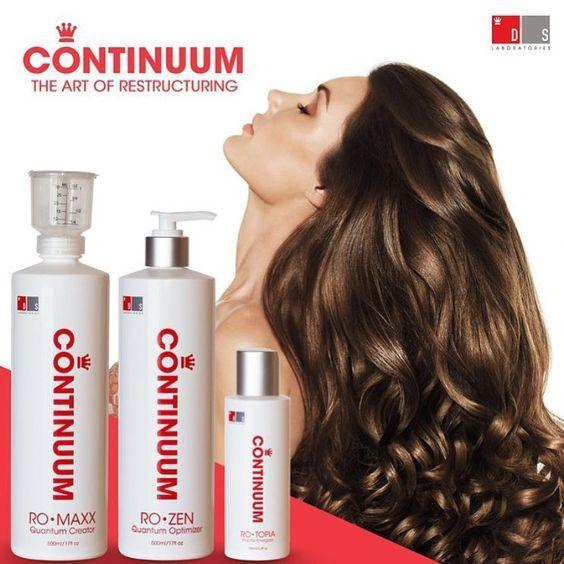 Continuum Professional Hair Restructuring Treatment KIT|Repair Damaged & Broken Hair, Bond Creator, Optimizer & Energizer