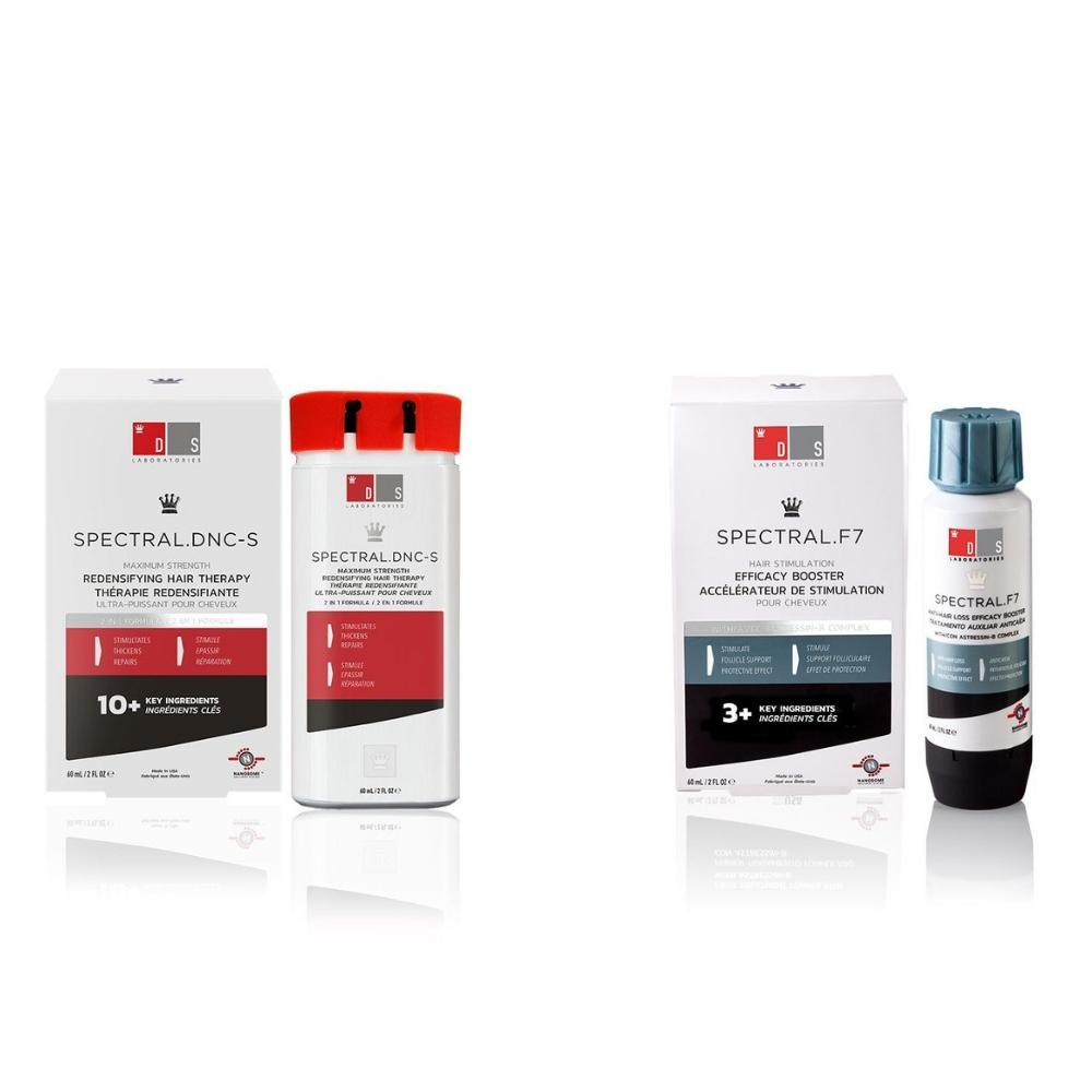 Extra Strength Hair Loss Kit | SPECTRAL.DNC-S + SPECTRAL.F7 (Proactive & Reparative for Men & Women)