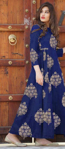 Rayon Cotton Gown