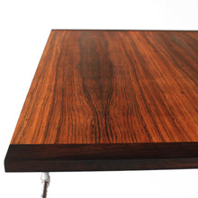 Load image into Gallery viewer, RARE Dokka Møbler Vintage Rosewood Coffee Table with Metal Base