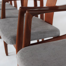Load image into Gallery viewer, RARE Folke Ohlsson Dining Chairs Set of 6 in Teak for Dux Vintage Mid Century